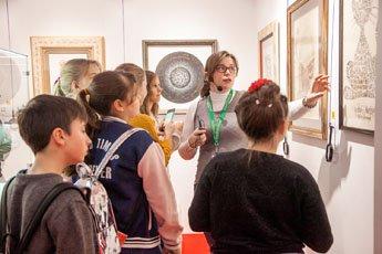 Ученики Британской международной школы посетили Современный музей каллиграфии