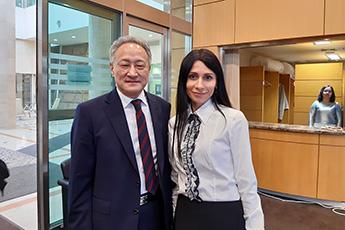 Встреча Ольги Шабуровой с послом Республики Корея в России Ли Сок Пэ