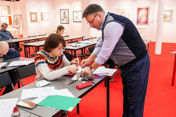 Contemporary Museum of Calligraphy held New Year crash course