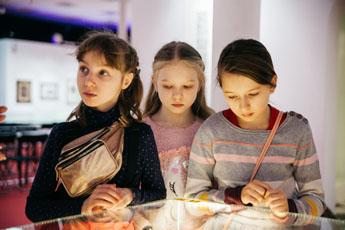 Экскурсия для детей в Музее мировой каллиграфии