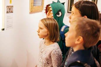 Ученики московских школ с большим интересом посещают экскурсии в Музее мировой каллиграфии