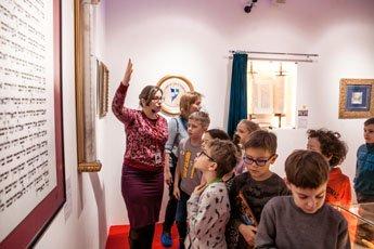 Музей мировой каллиграфии провел интереснейшую экскурсию с мастер-классом для учеников московской школы