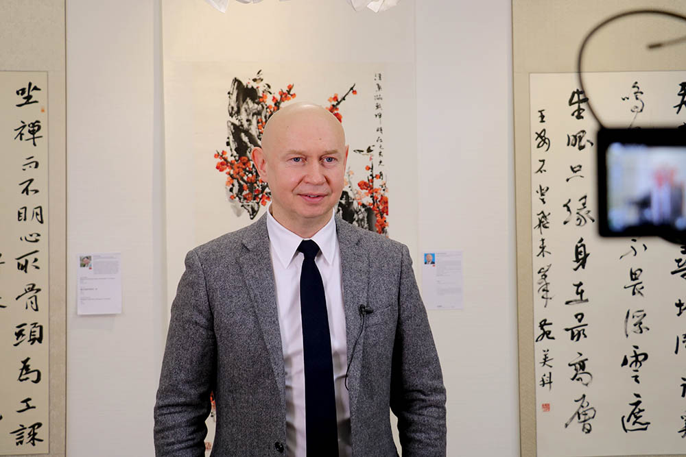 Alexey Shaburov, President of Sokolniki Exhibition and Convention Center, and Director of the World Calligraphy Museum