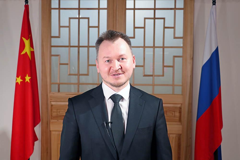 Alexey Kharyutkin, the Deputy General Director of Sokolniki Exhibition and Convention Center