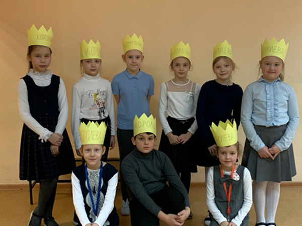School No.1392 selected Calligraphy King and Queen