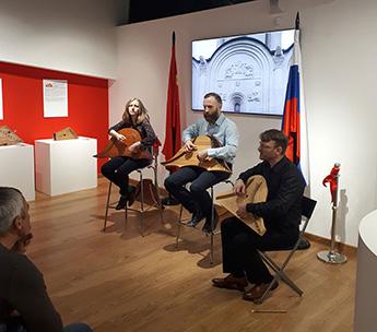 В Музее русских гуслей и китайского гуциня прошла творческая встреча