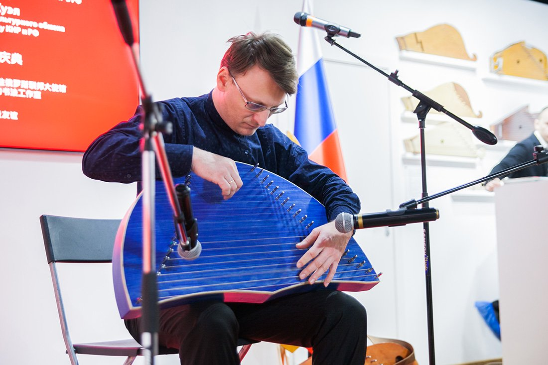 The Museum of Russian gusli and Chinese guqin was discussed at the internet radio station of All-Russian Society of the Blind