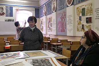 Shaburov A., Director of the World Calligraphy Museum had a meeting with artists from Ryazan