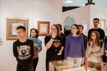 В Музее мировой каллиграфии проходят экскурсии для детей