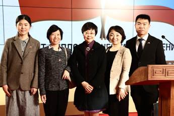 Канцелярия по иностранным делам правительства города Шанхая поддерживает Культурно-выставочный центр «Сокольники»