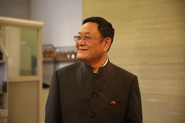 Музей мировой каллиграфии поздравляет господина Чжао Сюэли с Днем Рождения