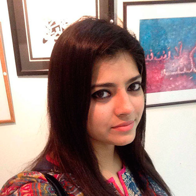 Поздравляем пакистанского каллиграфа Хан Адиба с днем рождения