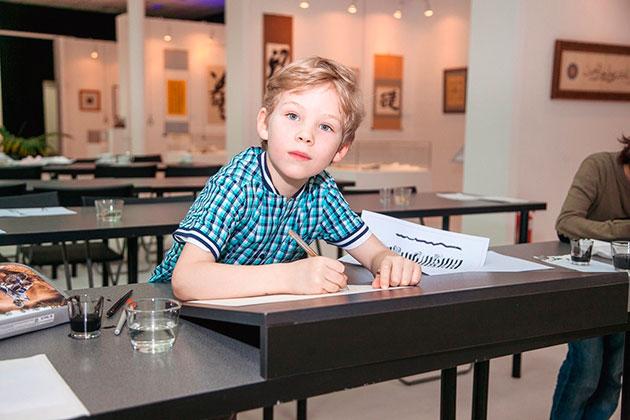 Школа каллиграфии в Сокольниках приглашает на курсы для детей