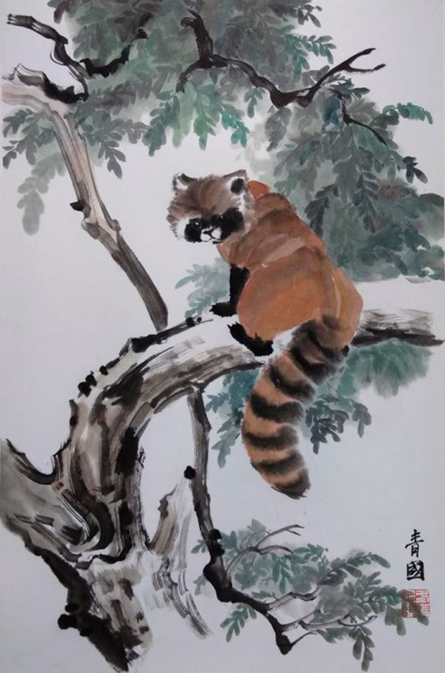 Работы участницы выставки «Великая китайская каллиграфия и живопись» Анны Донченко вошли в «Сборник работ китайской живописи тушью эры процветания»