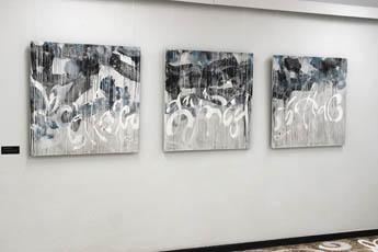 """""""进取精神拥有者"""":女艺术家达丽娅•纳扎罗娃展览在热列兹诺哥尔斯克开放"""