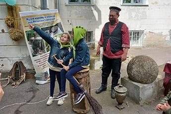 Музей каменных жерновов выступил на I Фестивале-параде двойняшек