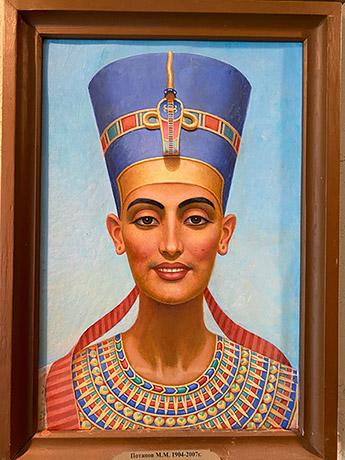 Прикоснуться к творчеству художника-египтолога М.М. Потапова