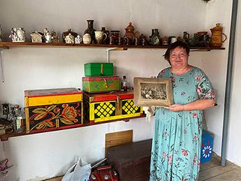 Уникальная находка в частном музее в п. ПолазнаПермского края