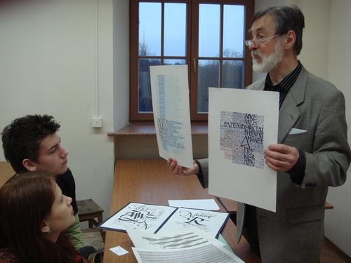 Petr Chobitko - calligraphy news