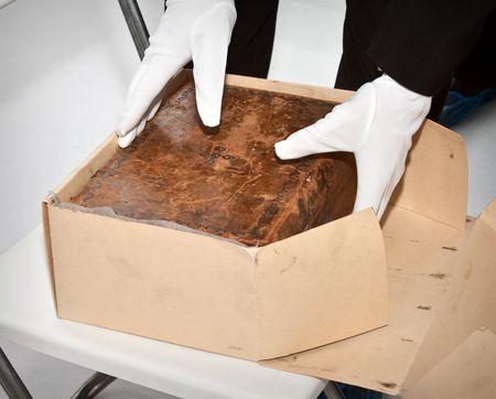Оригиналы берестяных грамот XI—XIV вв. из Кремля доставлены в Современный музей каллиграфии