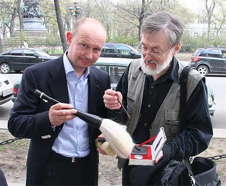 Alexey Shaburov, Petr Chobitko - calligraphy news