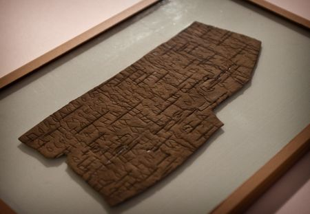 The Novgorod Kremlin's XI-XIV century birch-barks delivered to the Contemporary Museum of Calligraphy