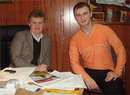 Дмитрий Савельев, Андрей Ершов - новости каллиграфии
