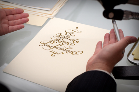 37 000 thousand visitors for three days - a record of the III International Exhibition of Calligraphy