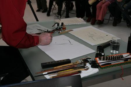 Влияние инструмента на выразительные возможности каллиграфии — мастер-класс Петра Чобитько