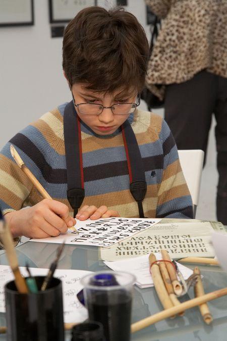 Совсем скоро — первое занятие в школе каллиграфии!