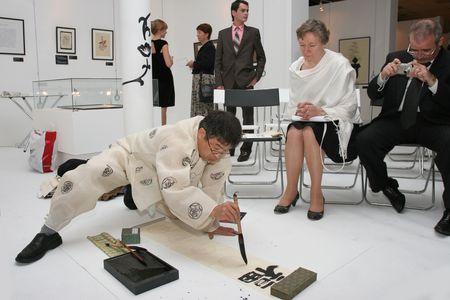 World's famous calligrapher artists will visit Veliky
