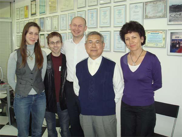 Chang Wang-Fu, project team - calligraphy news