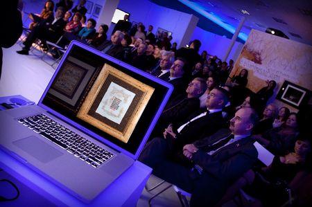 Торжественная церемония по случаю открытия Национальной школы искусства красивого письма