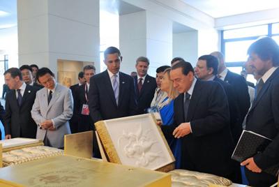 Pope Benedict XVI's calligrapher in Moscow